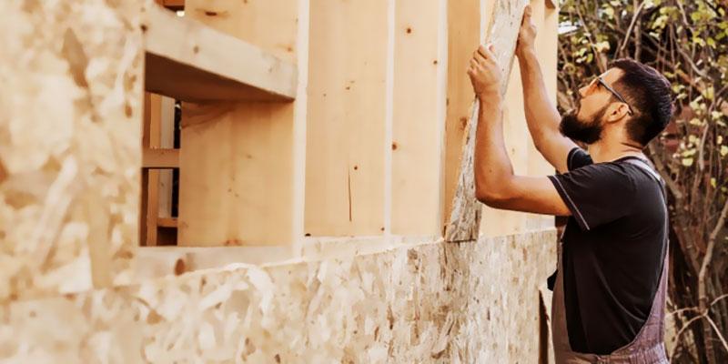 ساخت ویلای چوبی