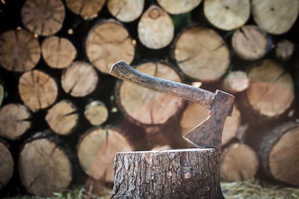 تیر چوبی