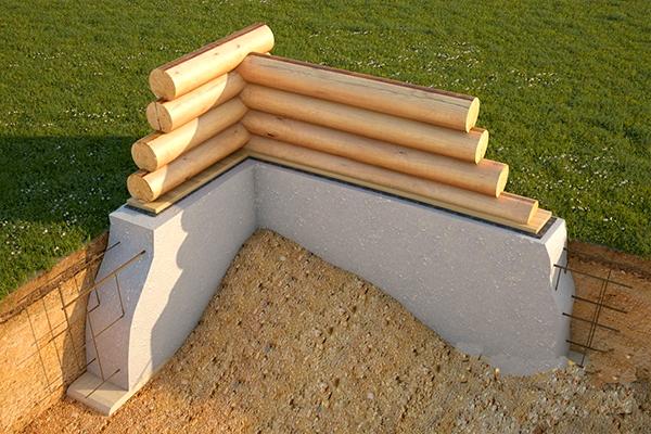 فونداسیون سازه چوبی