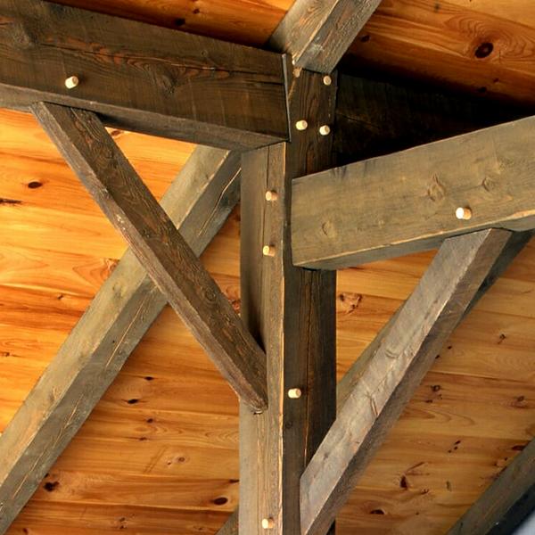 مقاوم سازی سازه چوبی