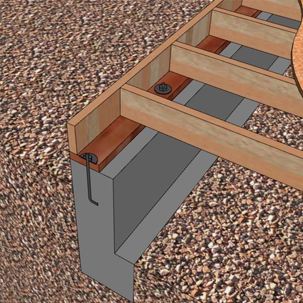 فونداسیون سازه چوبی ؛ پایه و اساس زیبایی ویلای چوبی