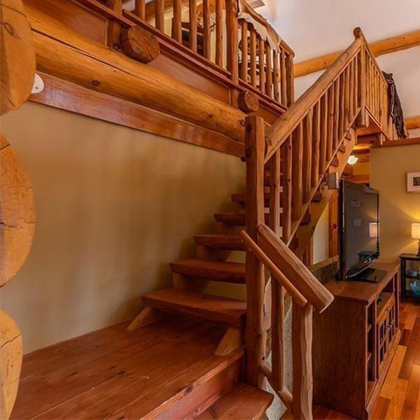 خانه چوبی دوبلکس