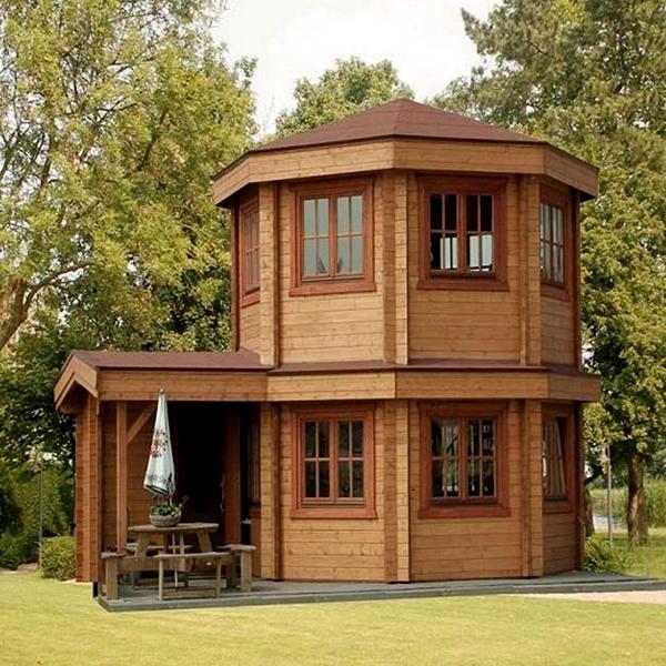 انواع سازه چوبی و نقش کاربری آن در ساخت