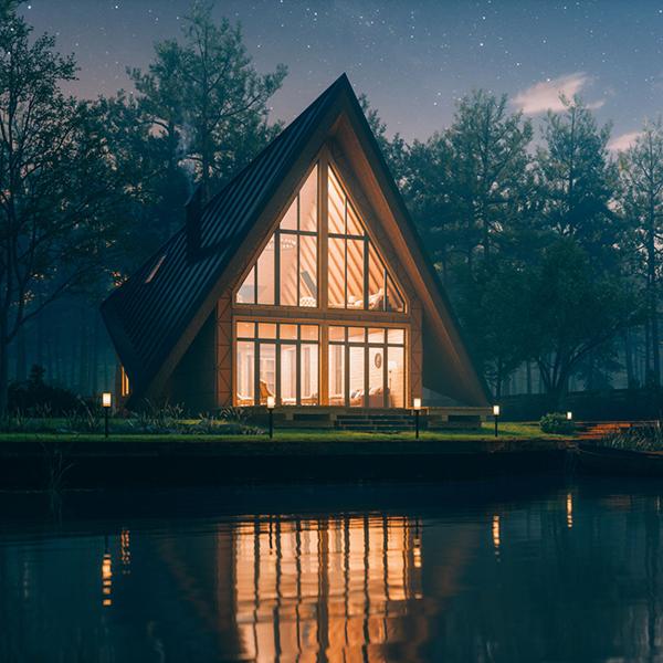 بررسی مصرف انرژی در خانه های چوبی